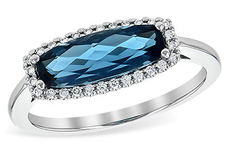 B235-95804: LDS RG 1.79 LONDON BLUE TOPAZ 1.90 TGW