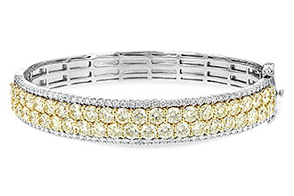 G235-03022: BANGLE 8.17 YELLOW DIA 9.64 TW